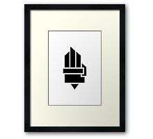 The Hunger Games - Hand (Light Version) Framed Print