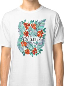 Killin' It – Tropical Red & Green Classic T-Shirt