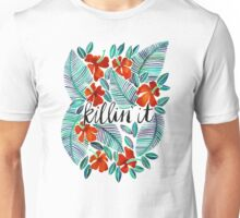Killin' It – Tropical Red & Green Unisex T-Shirt