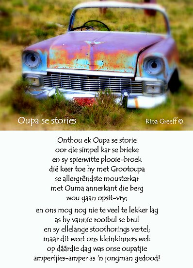 Oupa se stories by Rina Greeff