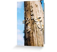 Can I Have your Number? Greeting Card
