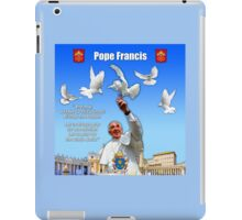 His Holiness Pope Francis 2015-prayer card version 2 iPad Case/Skin