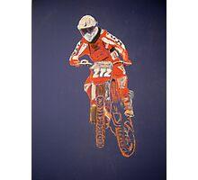 The Biker not the Bike Photographic Print