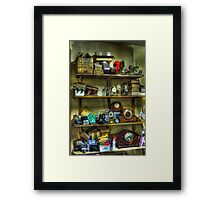 The Horologists Framed Print