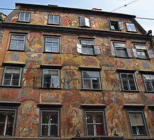 Fabulous Apartment Building by Lee d'Entremont
