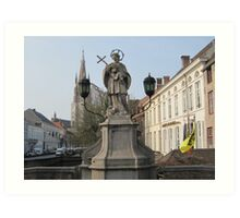 Bruges, Belgium Art Print