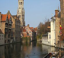 A Canal in Bruges by Patricia127