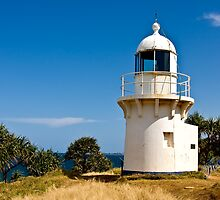 1878 Fingal head lighthouse by flexigav