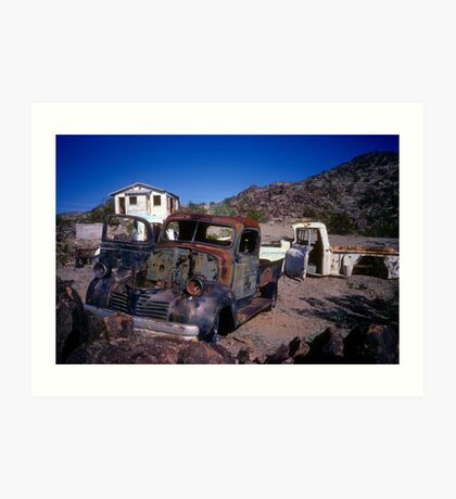 Classic American Desert Crop Art Print