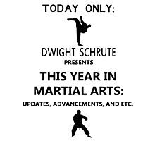 This Year in Martial Arts Photographic Print