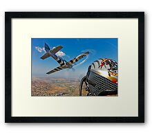 The Horsemen Aerobatic Flight Team Framed Print