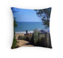 Dendy Beach - Brighton - Victoria - Australia Throw Pillow