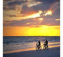 Sunset Ride Photographic Print