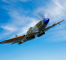 Supermarine Spitfire Mk-18 by StocktrekImages