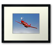 Dago Red P-51G Mustang Framed Print