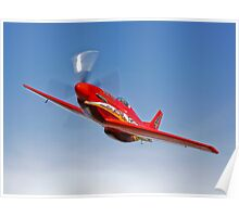 Dago Red P-51G Mustang Poster