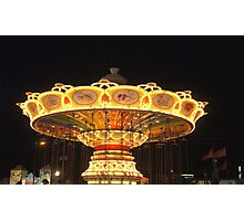 Old Town Carousel Photographic Print