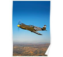 P-51A Mustang Poster