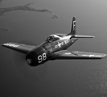 Grumman F8F Bearcat by StocktrekImages