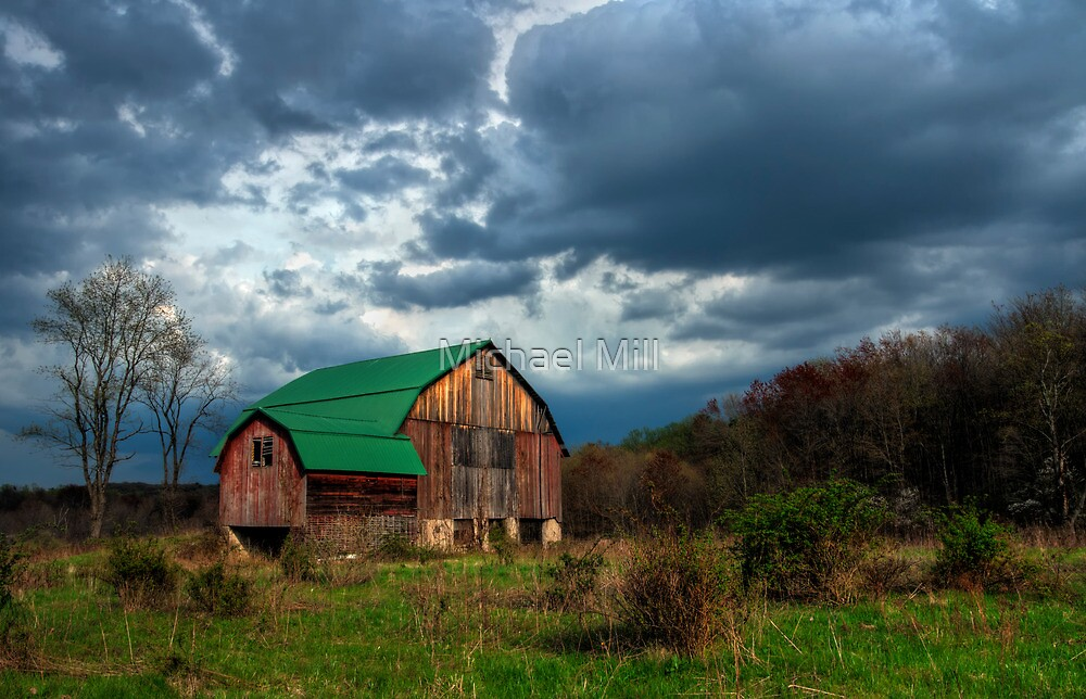 Old Barn by Michael Mill