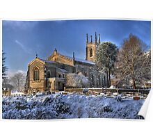 Winchester Church - HDR Poster