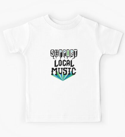 Support Local Music Kids Clothes