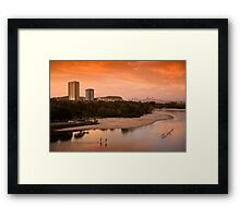 Currumbin Palm Beach Framed Print