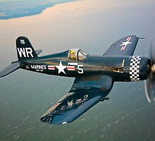 F4U-5 Corsair by StocktrekImages