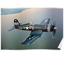 F4U-5 Corsair Poster
