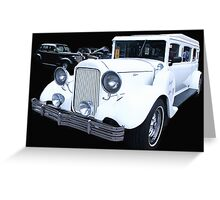 LIMO-ROD Greeting Card