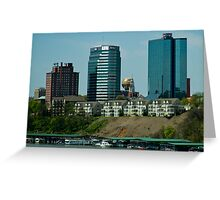 Downtown Knoxville Landscape Greeting Card