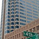 High Rise Reflection 4 - Downtown - Austin Texas Series - 2011 by Jack McCabe