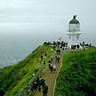 Cape Reinga Lighthouse, New Zealand. by Roy  Massicks