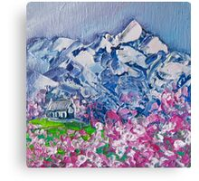 Mountain Blossoms Canvas Print