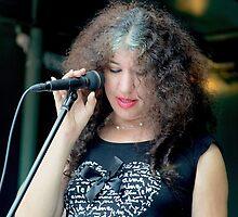 Heidi sings the blues by Heidi  Jacobsen