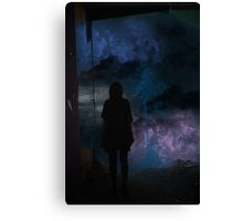 The art of breaking Canvas Print