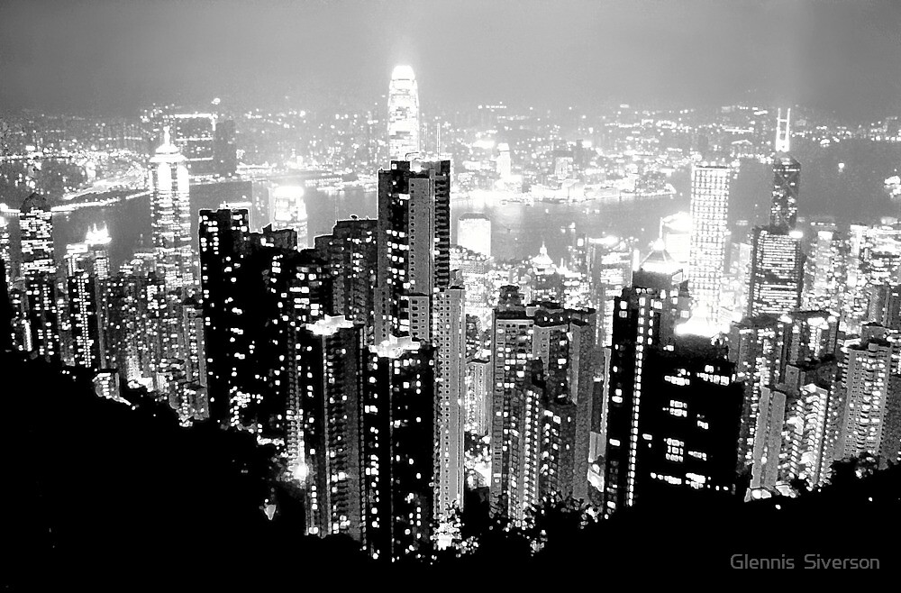 Hong Kong, China by Glennis  Siverson