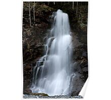 Road side falls in Harrison Hot Springs Poster