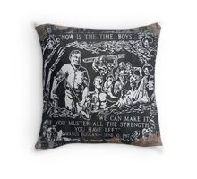 Granit Mine Fire - Now Is The Time Boys Throw Pillow