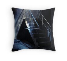 25.4.2011: Death of Industry Throw Pillow