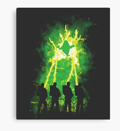Cleaning Up Town Canvas Print