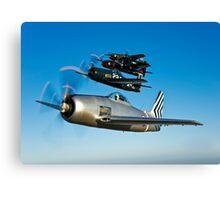 Grumman F8F Bearcats & F7F Tigercats Canvas Print