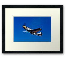 P-51D Mustang Kimberly Kaye Framed Print