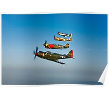 Classic Warbirds Poster