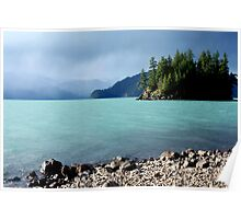 Harrison Lake-British Columbia Poster