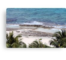 Beach Cozumel 2 Canvas Print