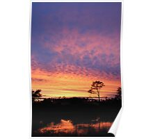 Sunrise - what a beautiful time of the morning! Poster