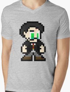 Pixel Potter Mens V-Neck T-Shirt