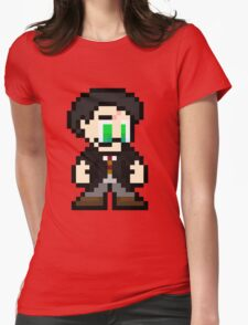 Pixel Potter Womens Fitted T-Shirt