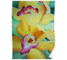 Spring Orchids - detail Poster